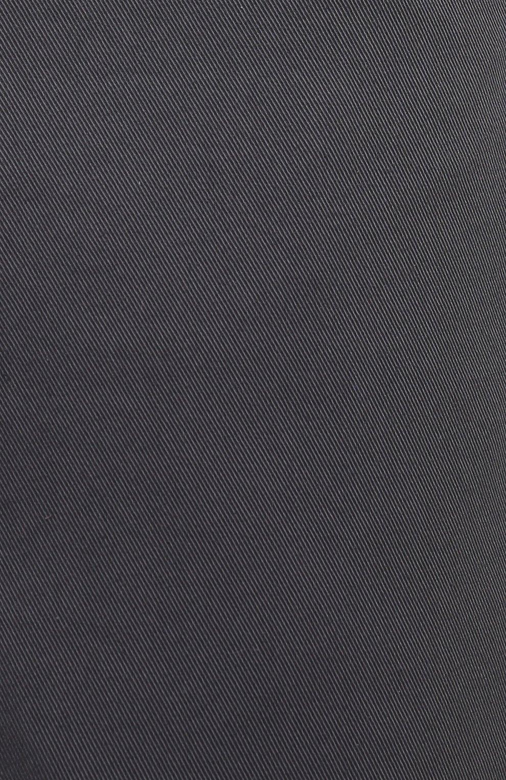 Мужские хлопковые брюки BRIONI серого цвета, арт. SPPB0M/P8T01/MERIBEL   Фото 5