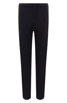 Мужские льняные брюки LORO PIANA темно-синего цвета, арт. FAL6164 | Фото 1