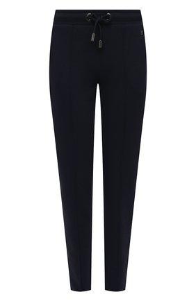 Женские хлопковые брюки BOGNER темно-синего цвета, арт. 16976678 | Фото 1
