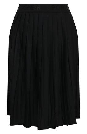 Женская плиссированная юбка BOGNER черного цвета, арт. 21532787   Фото 1