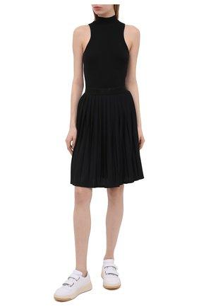 Женская плиссированная юбка BOGNER черного цвета, арт. 21532787   Фото 2