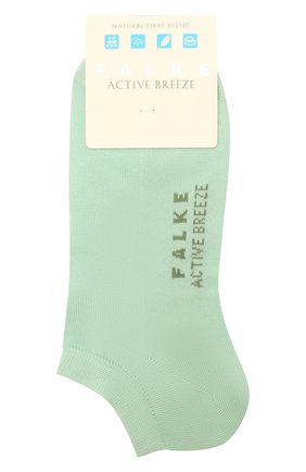 Женские носки active breeze FALKE светло-зеленого цвета, арт. 46124 | Фото 1