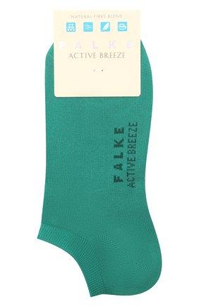 Женские носки active breeze FALKE зеленого цвета, арт. 46124 | Фото 1