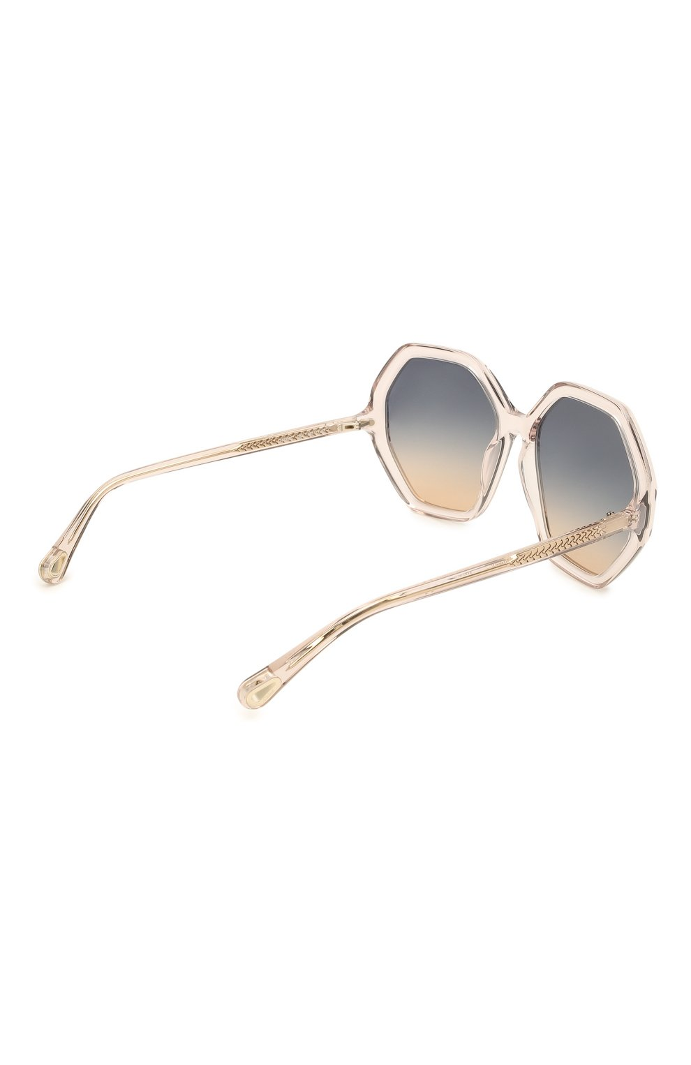 Женские солнцезащитные очки CHLOÉ розового цвета, арт. CH0008S   Фото 4