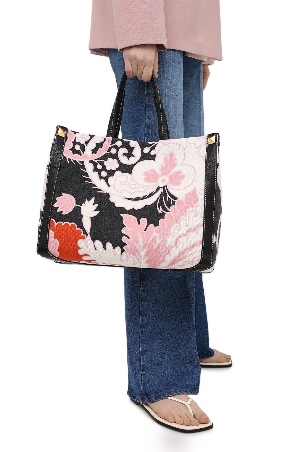 Женский сумка-шопер valentino garavani grande plage VALENTINO разноцветного цвета, арт. VW2B0D21/ZKM | Фото 2