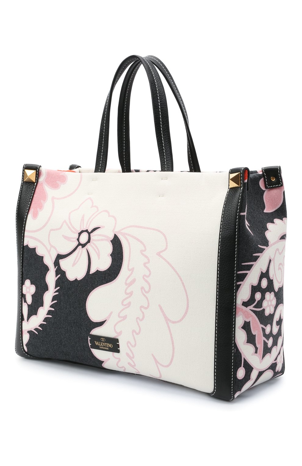 Женский сумка-шопер valentino garavani grande plage VALENTINO разноцветного цвета, арт. VW2B0D21/ZKM | Фото 3