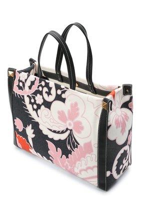 Женский сумка-шопер valentino garavani grande plage VALENTINO разноцветного цвета, арт. VW2B0D21/ZKM | Фото 4