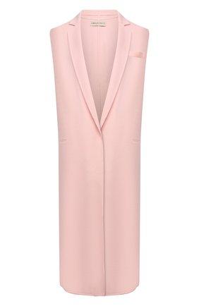 Женский шерстяной жилет EMILIO PUCCI розового цвета, арт. 1ERA05/1E604 | Фото 1