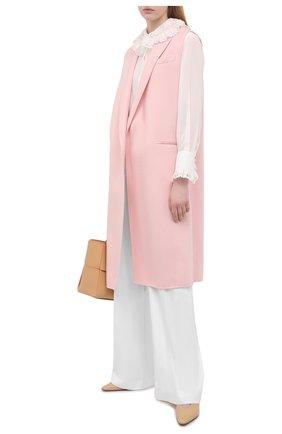 Женский шерстяной жилет EMILIO PUCCI розового цвета, арт. 1ERA05/1E604 | Фото 2