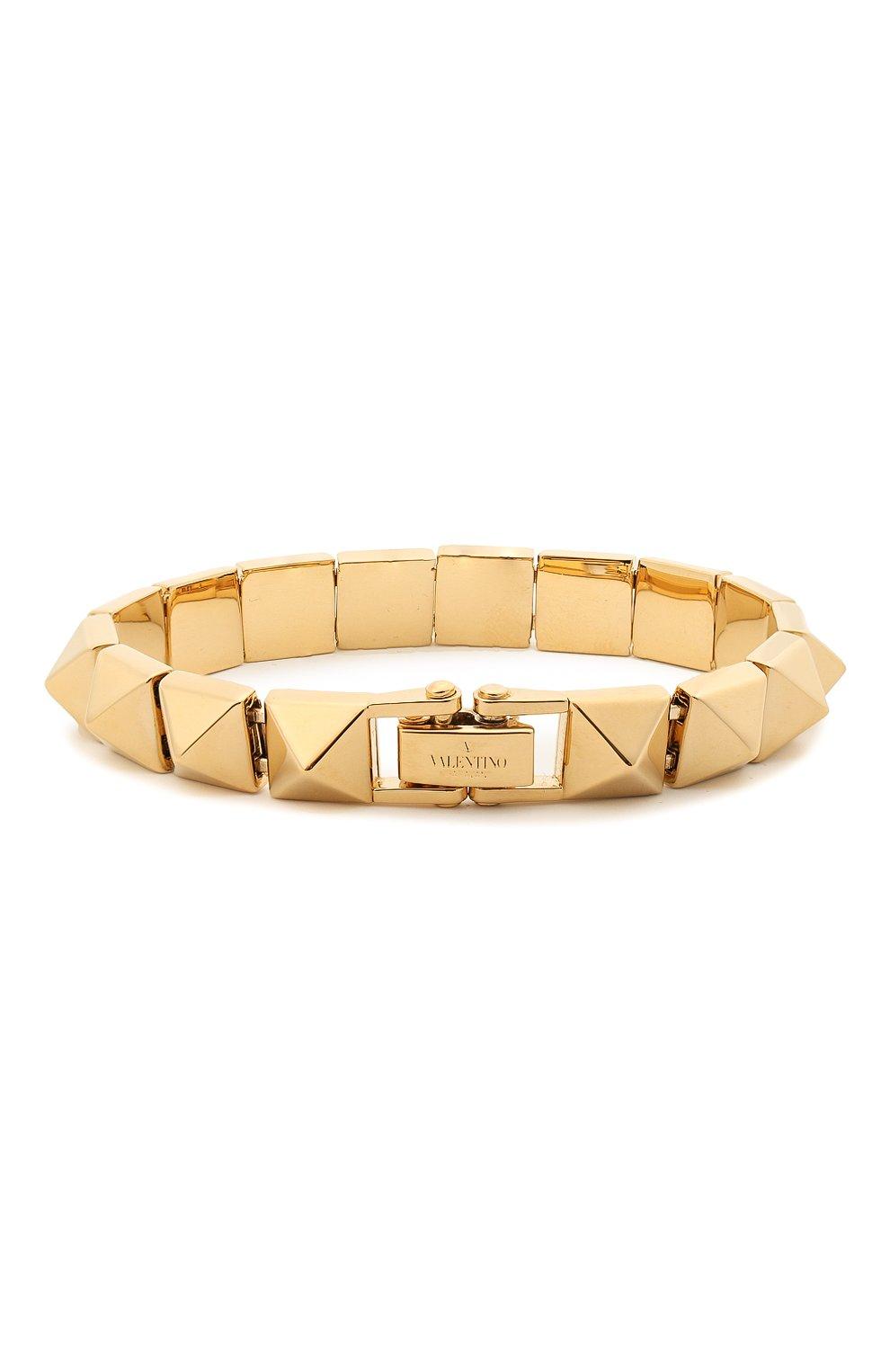 Женский браслет valentino garavani VALENTINO золотого цвета, арт. VW2J0H91/MET | Фото 2