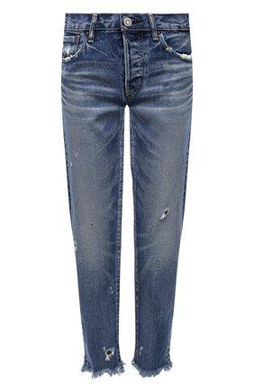 Женские джинсы MOUSSY голубого цвета, арт. 025ESC11-2370 | Фото 1