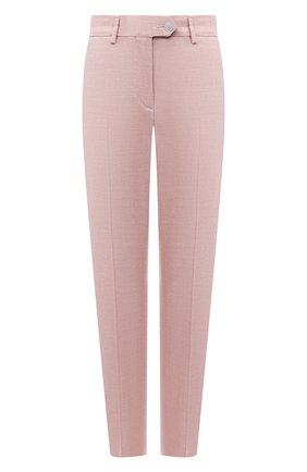 Женские брюки KITON розового цвета, арт. D49109K09T26 | Фото 1
