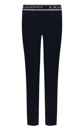 Женские брюки ERMANNO FIRENZE синего цвета, арт. D38ET PL30CRE | Фото 1
