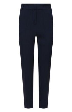 Женские брюки ERMANNO FIRENZE синего цвета, арт. D38ET PL08CRE | Фото 1
