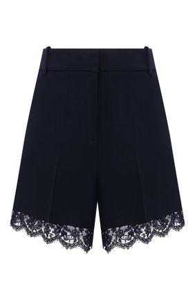 Женские шорты ERMANNO FIRENZE синего цвета, арт. D38ET PC06CRE | Фото 1