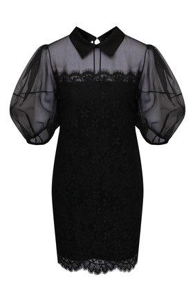Женское платье ERMANNO FIRENZE черного цвета, арт. D38ET AB28PIZ | Фото 1