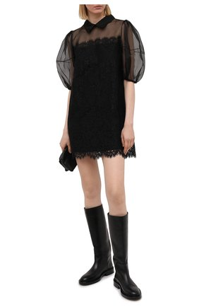 Женское платье ERMANNO FIRENZE черного цвета, арт. D38ET AB28PIZ | Фото 2
