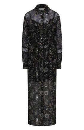 Женское платье из вискозы ERMANNO FIRENZE черного цвета, арт. D38ET AB18GFC | Фото 1