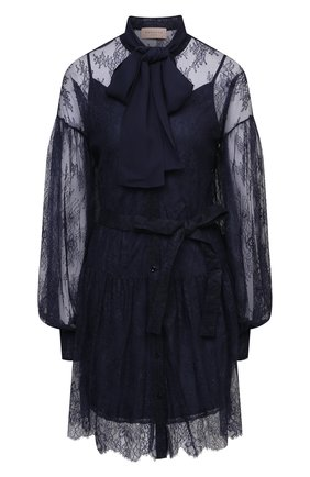 Женское платье ERMANNO FIRENZE синего цвета, арт. D38ET AB11PIZ | Фото 1