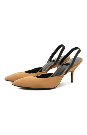 Женские замшевые туфли gala PIERRE HARDY коричневого цвета, арт. UL02/SUEDE KID   Фото 1