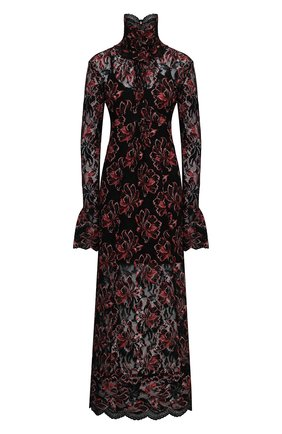 Женское платье из вискозы PACO RABANNE разноцветного цвета, арт. 21EJR0289PA0174 | Фото 1