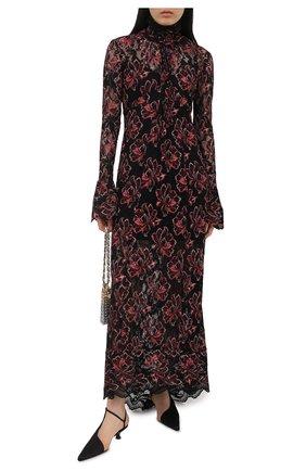Женское платье из вискозы PACO RABANNE разноцветного цвета, арт. 21EJR0289PA0174 | Фото 2