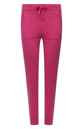 Женские брюки из шерсти и кашемира LORENA ANTONIAZZI фуксия цвета, арт. P21129PM004/1292 | Фото 1