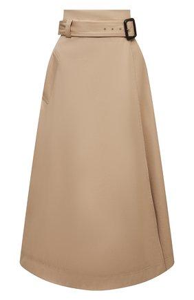 Женская хлопковая юбка WINDSOR бежевого цвета, арт. 52 DR508 10008591 | Фото 1