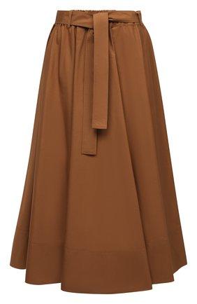 Женская хлопковая юбка WINDSOR коричневого цвета, арт. 52 DR520H 10011495 | Фото 1