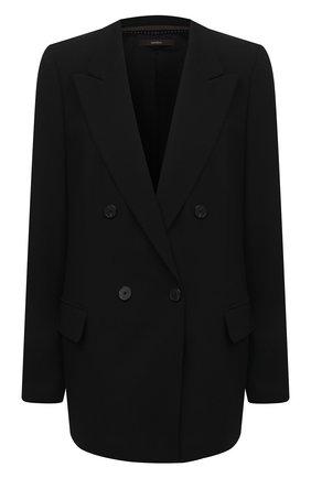 Женский шерстяной жакет WINDSOR черного цвета, арт. 52 DS507 10011409 | Фото 1