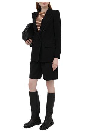 Женский шерстяной жакет WINDSOR черного цвета, арт. 52 DS507 10011409 | Фото 2
