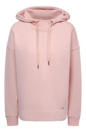 Женский хлопковое худи WINDSOR розового цвета, арт. 52 DT407 10009492 | Фото 1