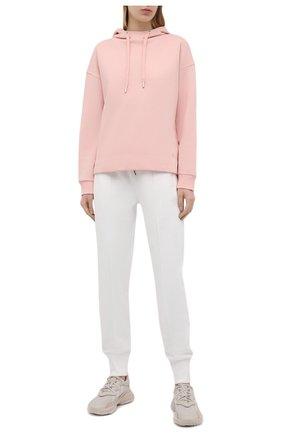 Женский хлопковое худи WINDSOR розового цвета, арт. 52 DT407 10009492 | Фото 2