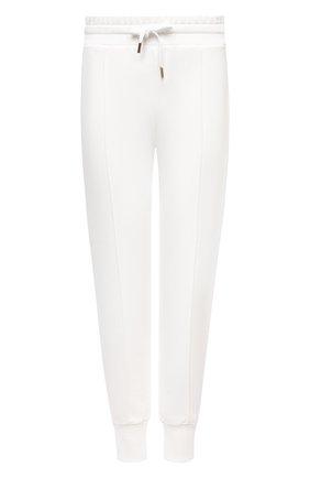 Женские хлопковые джоггеры WINDSOR белого цвета, арт. 52 DT423 10009492 | Фото 1