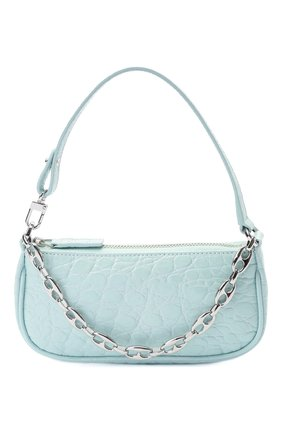 Женская сумка rachel mini BY FAR голубого цвета, арт. 21SSMIRAICECCESMA | Фото 1