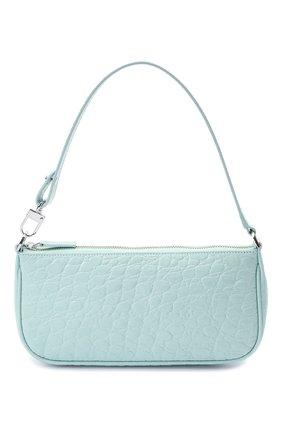 Женская сумка rachel BY FAR голубого цвета, арт. 21SSRCLSICECCEMED   Фото 1