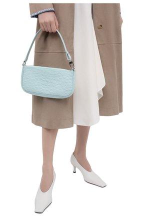 Женская сумка rachel BY FAR голубого цвета, арт. 21SSRCLSICECCEMED   Фото 2