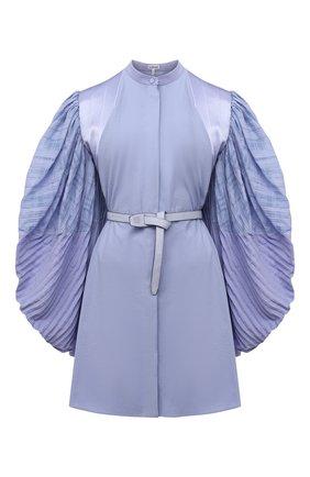 Женское платье LOEWE голубого цвета, арт. S540Y09XA3 | Фото 1