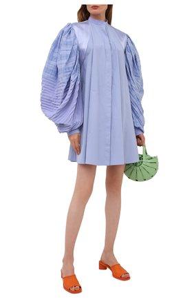 Женское платье LOEWE голубого цвета, арт. S540Y09XA3 | Фото 2