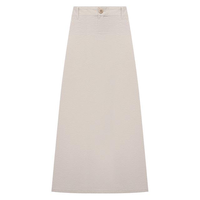 Хлопковая юбка Emporio Armani