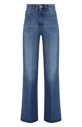 Женские джинсы AMI синего цвета, арт. E21FD302.601 | Фото 1