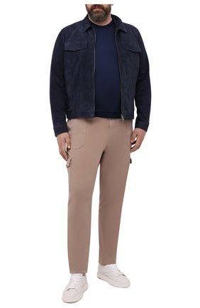 Мужской хлопковый джемпер SVEVO темно-синего цвета, арт. 4650/3SE21/MP46/60-62 | Фото 2