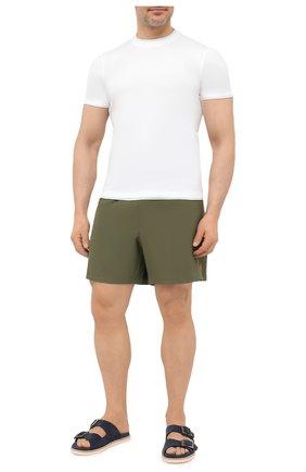 Мужские плавки-шорты POLO RALPH LAUREN хаки цвета, арт. 711829851/PRL BS   Фото 2