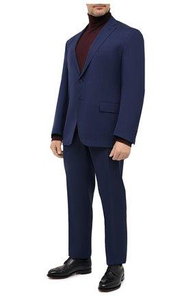 Мужской шерстяной костюм LUCIANO BARBERA темно-синего цвета, арт. 5M2014/25030/58-62 | Фото 1