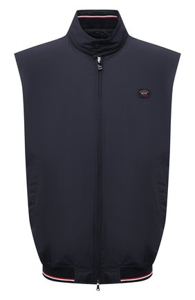 Мужской жилет PAUL&SHARK темно-синего цвета, арт. 21412016/FH4/3XL-6XL | Фото 1