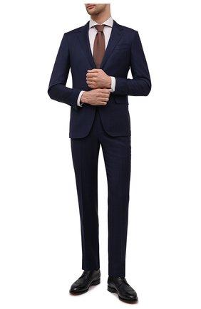 Мужская хлопковая сорочка ETON бежевого цвета, арт. 1000 02058 | Фото 2