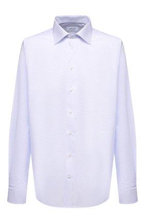 Мужская хлопковая сорочка ETON голубого цвета, арт. 1000 02217 | Фото 1