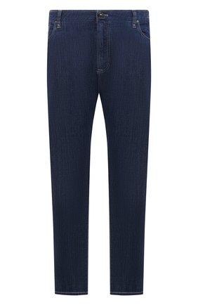 Мужские джинсы CORTIGIANI синего цвета, арт. 113512/S500/0000/3130/60-70 | Фото 1