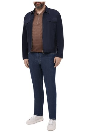 Мужские джинсы CORTIGIANI синего цвета, арт. 113512/S500/0000/3130/60-70 | Фото 2