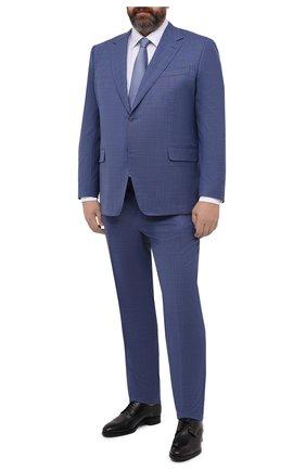 Мужской шерстяной костюм CANALI синего цвета, арт. 11280/10/AA02526/60-64   Фото 1